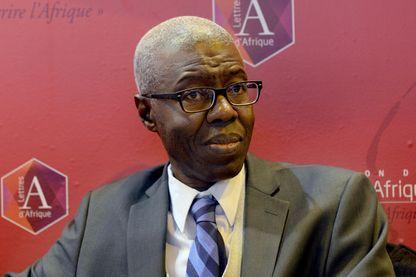 Souleymane Bachir Diagne au Salon du Livre à Paris le 24 mars 2017