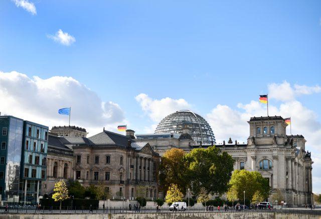 Le site du Reichstag à Berlin