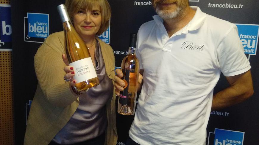 Sylvie Tonnaire et Christophe Puech