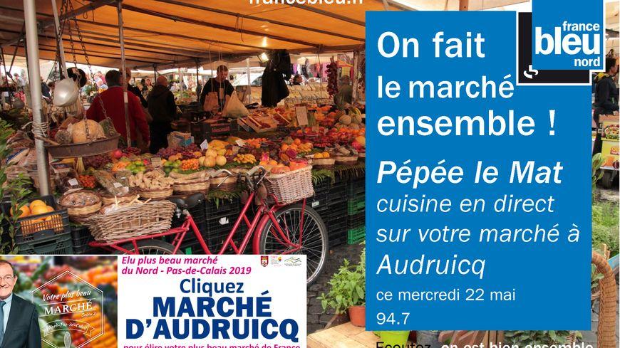 Le plus marché de France ? Il ne tient qu'a vous de voter pour Audruicq !