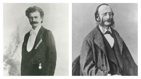 Johann Strauss Fils et Jacques Offenbach