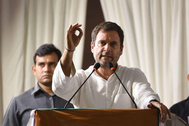 Rahul Gandhi, le principal opposant de Modi
