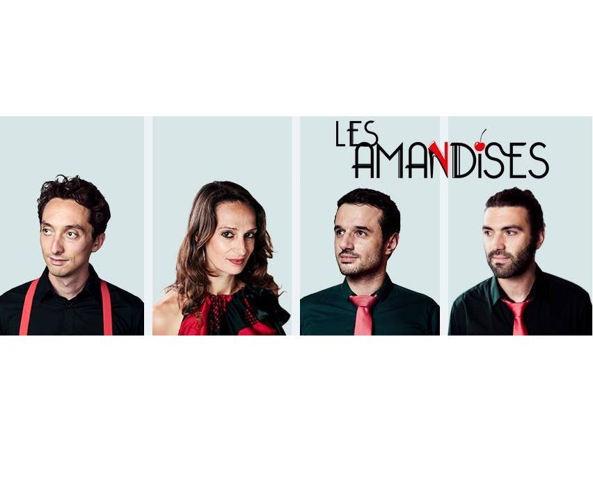 LES AMANDISES dans Bleu Hérault Live
