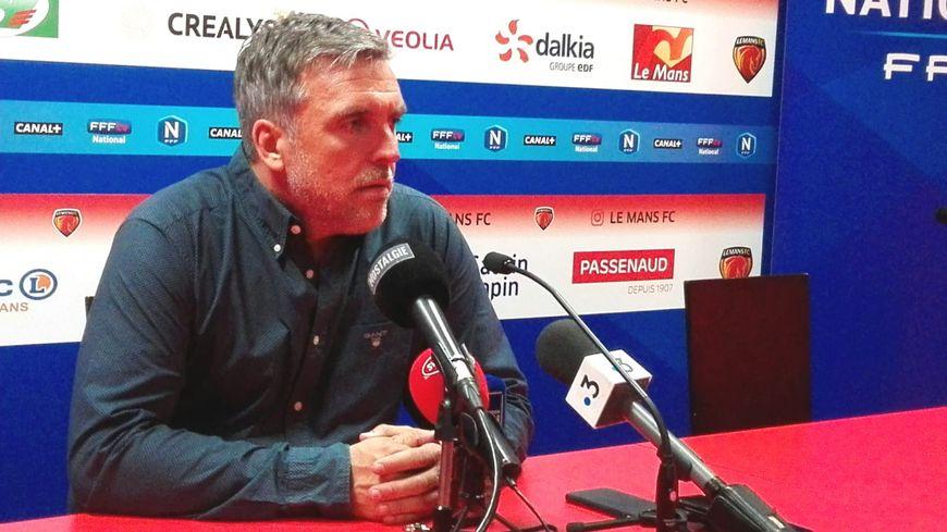 Richard Déziré, l'entraîneur du Mans FC