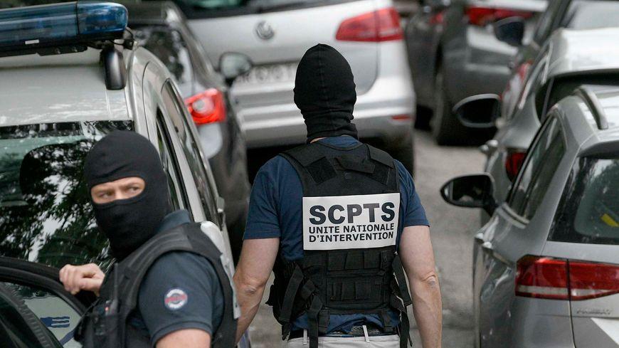 Perquisition au domicile du suspect après l'attaque de Lyon, le 27 mai 2019
