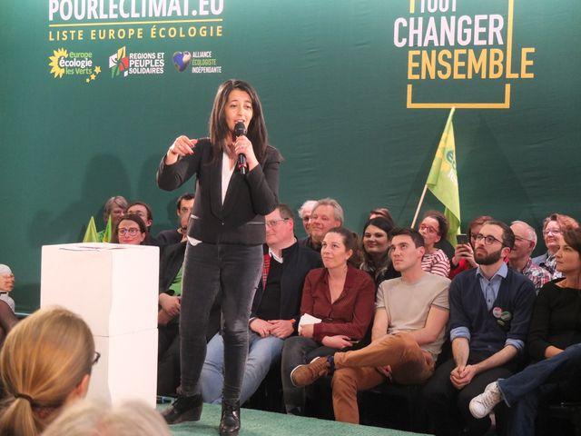 L'eurodéputée sortante Karima Delli est sixième sur la liste EELV pour les élections européennes.