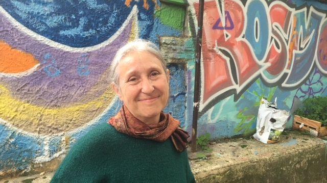 Chantal Raffanel, bénévole RESF