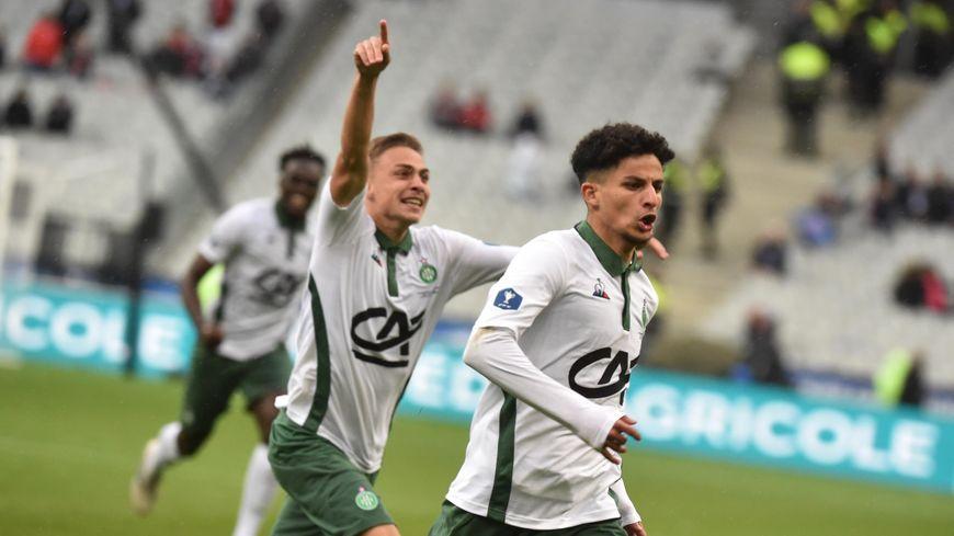 Le milieu offensif a marqué lors de la finale de la Gambardella au stade de France.