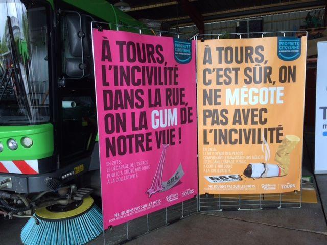 Le ramassage des chewing-gums et mégots coûte à la ville près de 690 000 euros par an
