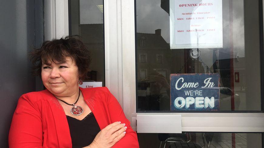 Valérie Roger a ouvert SOS Anglo à Châtillon-sur-Colmont le 23 avril.