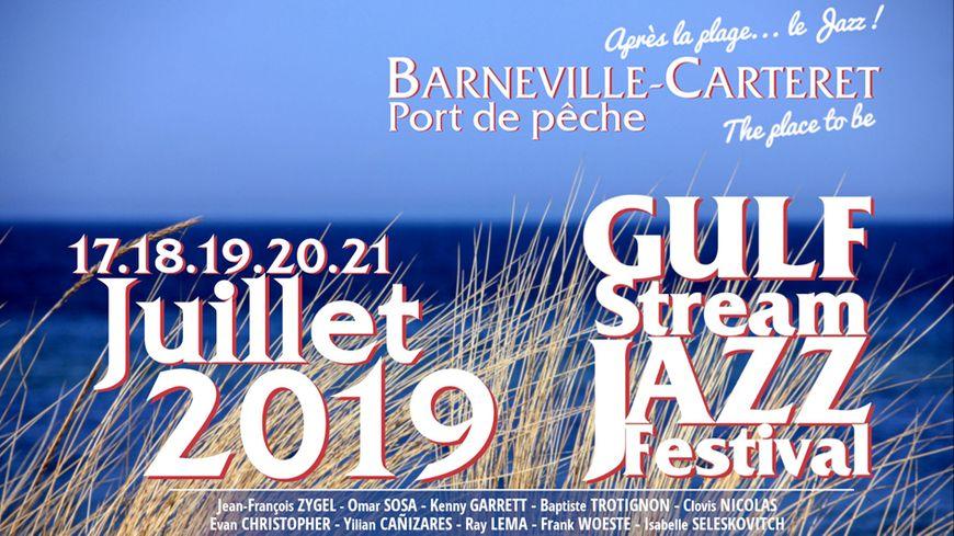 Gulf Stream Jazz Festival 2019 à Barneville-Carteret avec France Bleu Cotentin