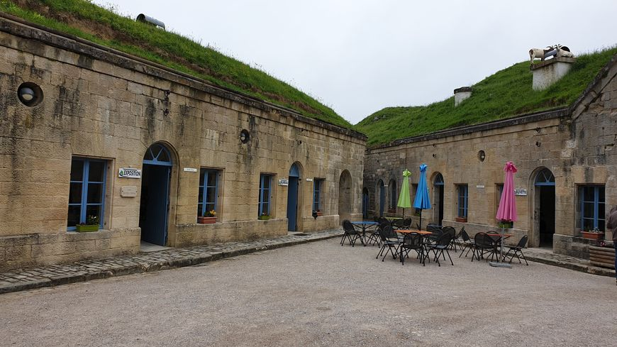 L'accueil du Fort de Bourlémont