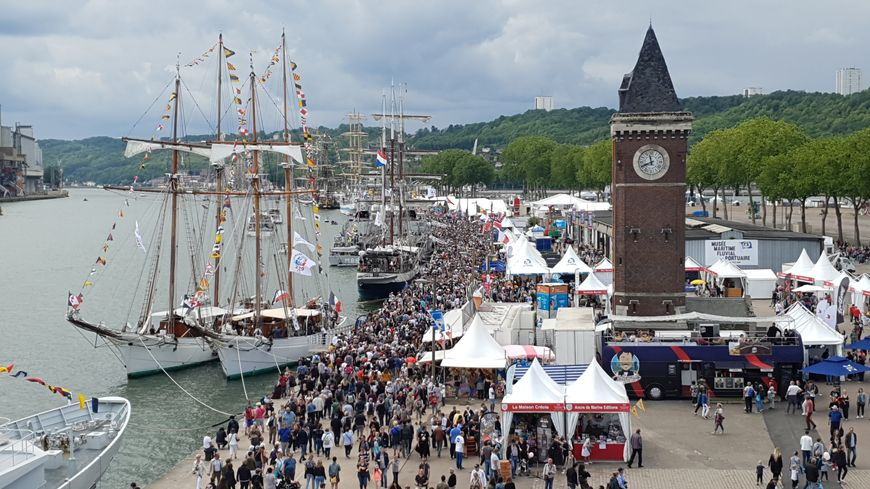 Des milliers de visiteurs sont venus lors de l'Armada.