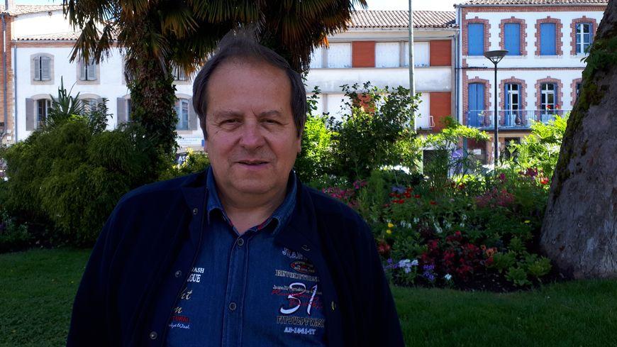 Yves Durand, président de l'association Caussade Locomotion à Caussade (82)