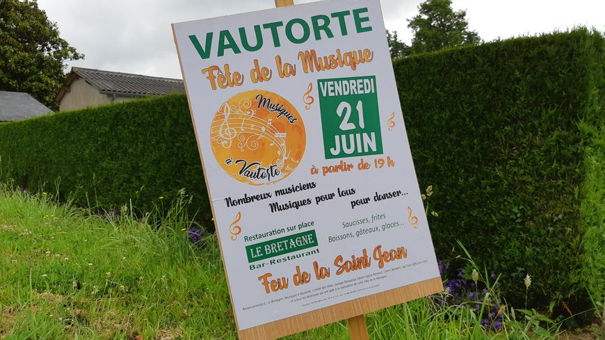 L'affiche de la Fête de la Musique à Vautorte