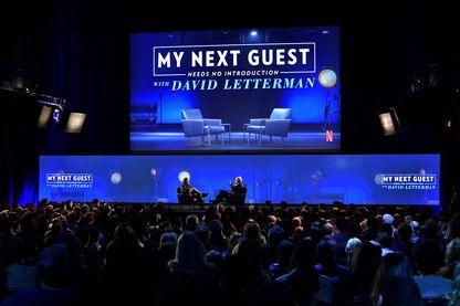 Sur Netflix, David Letterman fait parler les stars