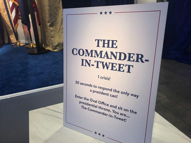 """Serez-vous à la hauteur du """"commander in tweet"""" ?"""