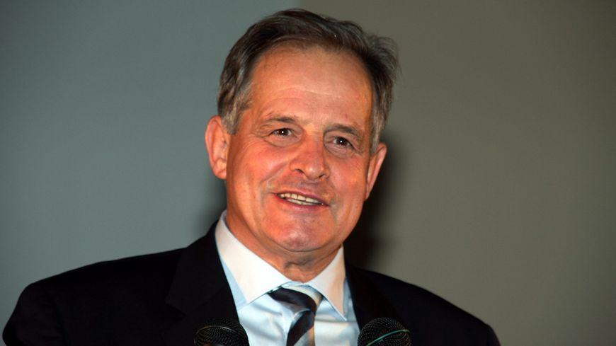 Pierre Lang, maire de Freyming-Merlebach et 1er vice -président du Sydeme
