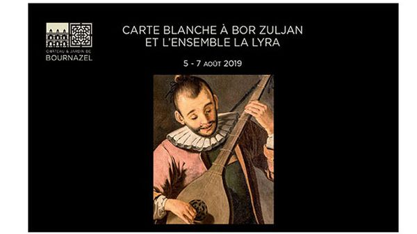 Château de Bournazel : Carte blanche à Bor Zuljan du 5 au 7 août 2019