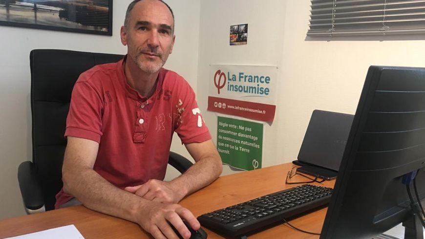 Loïc Prud'homme, député de la 3e circonscription de la Gironde, ne se voit pas en tête de liste des Insoumis pour les municipales à Bordeaux