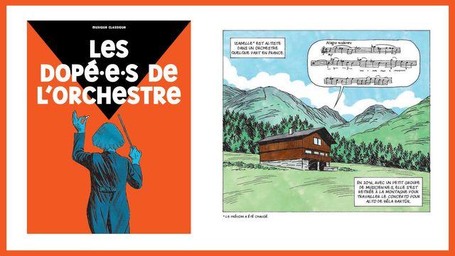 Un extrait de la bande dessinée de François Thomazeau, parue dans La Revue dessinée #24