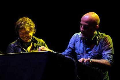 Cassius au Orangina Gliss And Mix Event au Grand Palais en 2010
