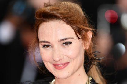 L'actrice Déborah François, à Cannes, pendant le Festival, le 14 mai 2019.