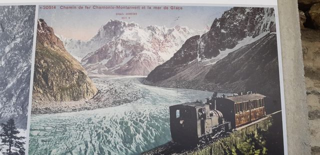 La mer de glace au début du 20ème siècle