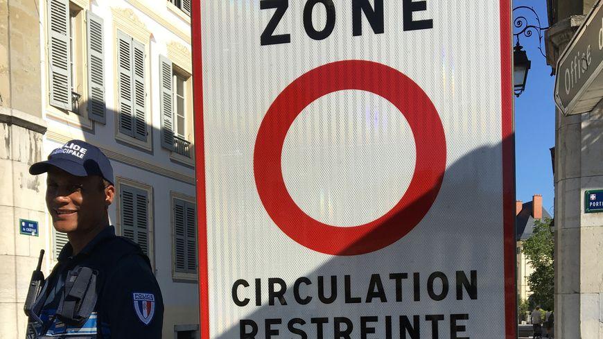 Zone de circulation restreinte à Chambéry