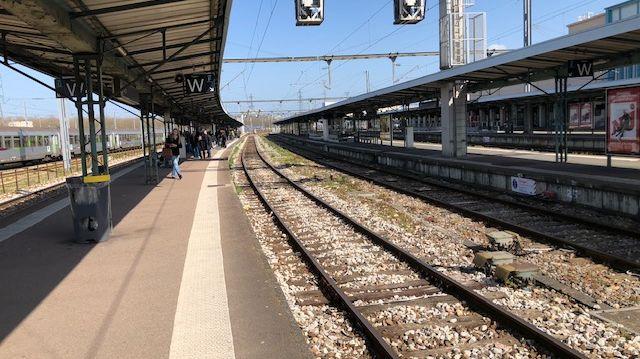 Le trafic SNCF reprend entre Caen ( photo) et Lisieux au lendemain des orages qui avaient provoqué des dégâts sur la voie ferrée