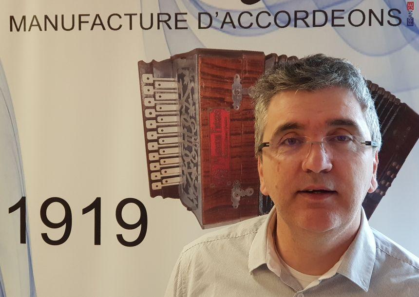Richard Brandao dirige la manufacture Maugein depuis 5 ans - Aucun(e)