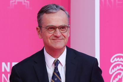 Roch-Olivier Maistre, président du CSA, lors du Festival de Cannes 2019