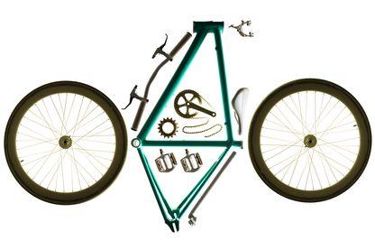 Vélo démonté
