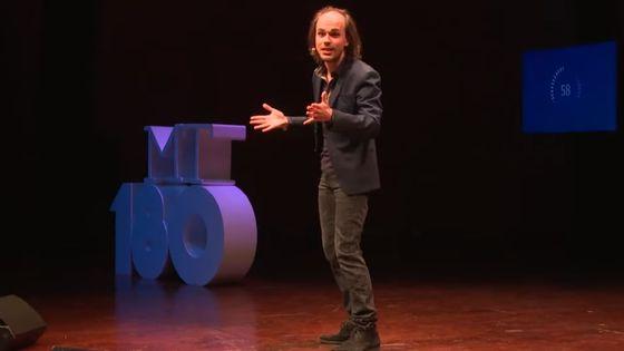 Tom Mébarki, lauréat de Ma thèse en 180 secondes