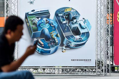 Publicité pour la 5G (ici à Shanghaï)