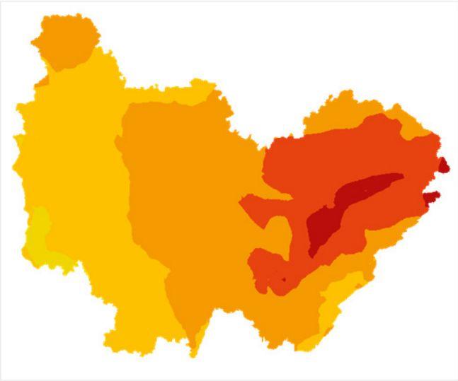 La qualité de l'air prévue ce mercredi 26 juin 2019 en Bourgogne Franche Comté