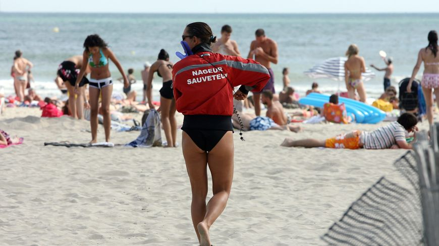 Un homme et une femme ont péri ce mardi sur les plages. À Frontignan et à Carnon (illustration)