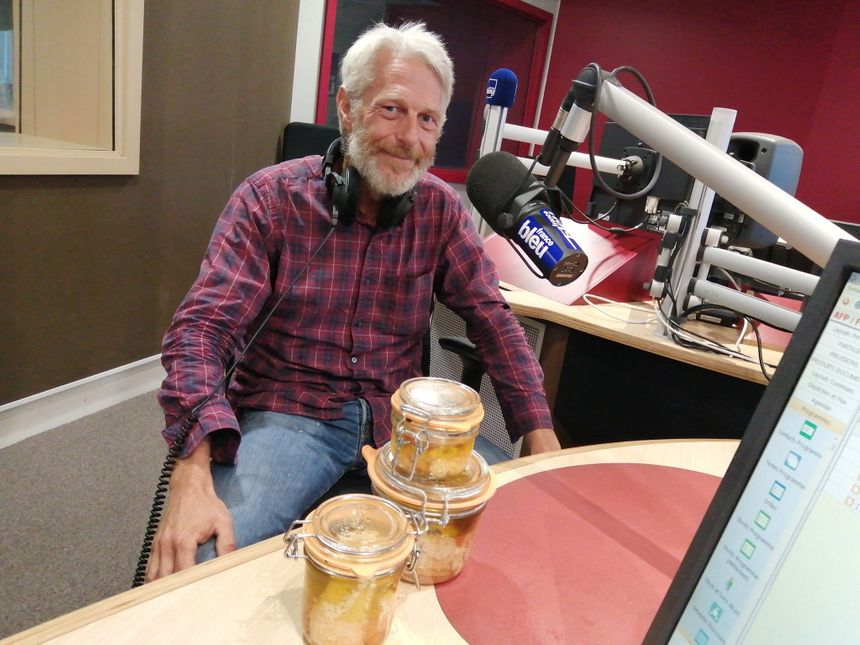 Frédéric Bruyère créateur de la Conserverie des Pins à Lège Cap Ferret