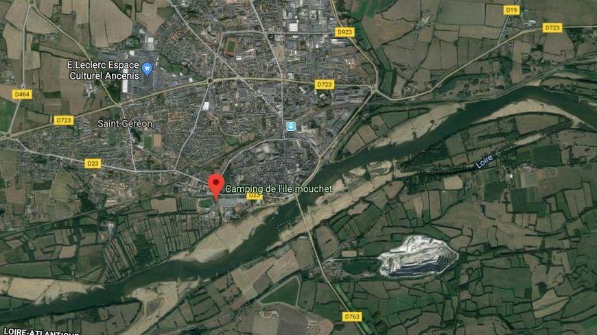 L'homme a été retrouvé dans ce camping près de la Loire