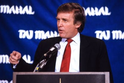 Donald Trump, en mars 1989