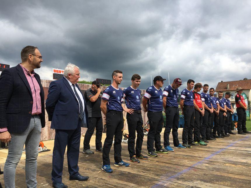La deuxième manche de qualification pour le championnat de France de bûcheronnage sportif avait lieu ce weekend à Champagnole