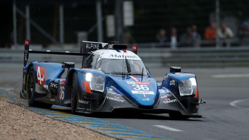 La voiture n°36 de Signatech-Alpine s'impose aux 24 heures du Mans