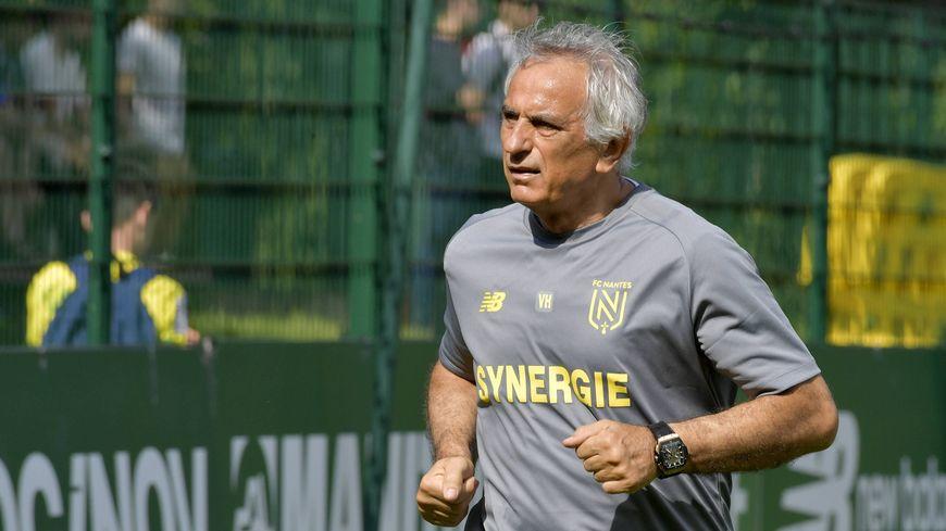 L'entraîneur, Vahid Halilhodžić, sera sur le banc du FC Nantes cette saison, confirme Franck Kita.