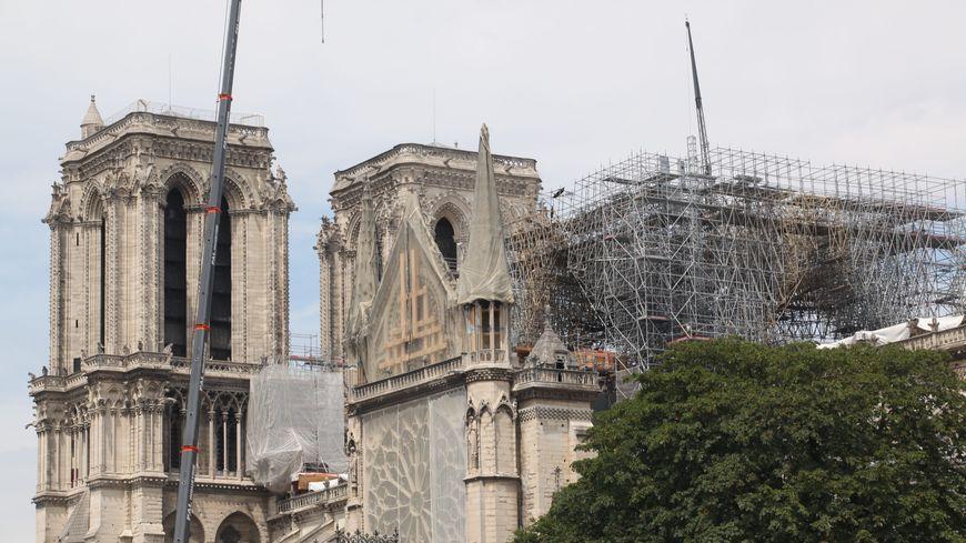 Le chantier de restauration de Notre-Dame de Paris