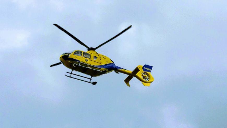La future maman aurait été evacuée sur l'hôpital de Châteauroux en hélicoptère