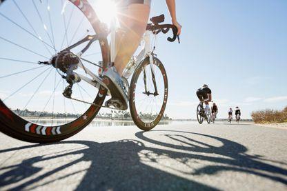 Le cyclisme parmi les épreuves de Triathlon