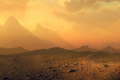 400°, des pluies acides, un effet de serre à son paroxysme avec fort taux de Co2 et des vents soufflant à 350 km : bienvenue sur Vénus (illustration)