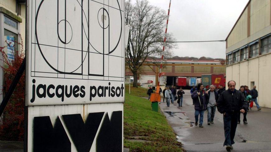 L'entreprise Parisot SAS à Saint-Loup-sur-Semouse en 2009.