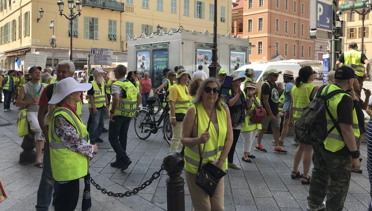 Trois interpellations lors de l'acte 31 des Gilets Jaunes à Nice