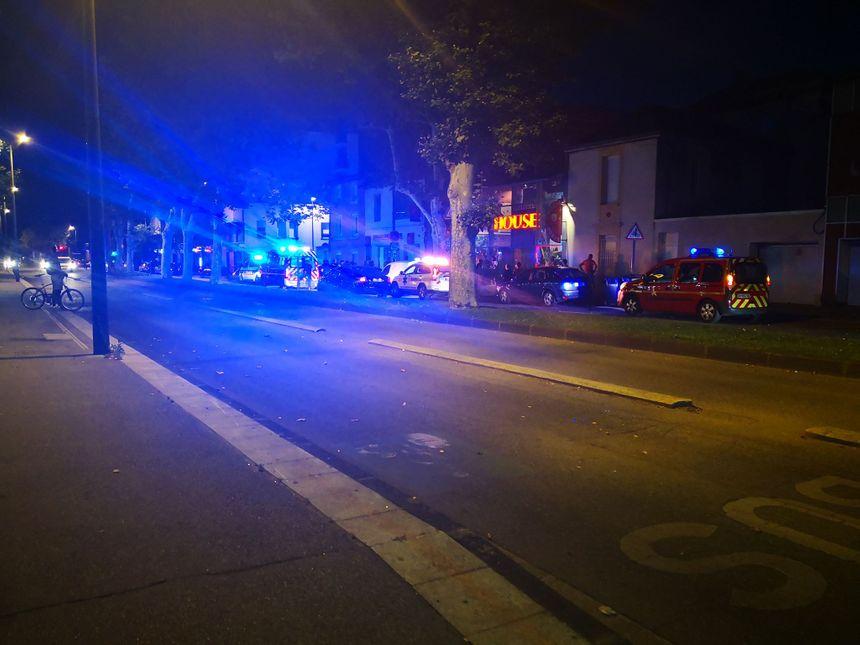 Beaucoup de témoins au moment de l'agression